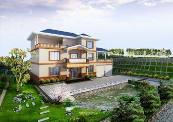欧式风格160平米极美别墅装修效果图