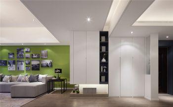 简约风格120平米世贸广场现代时尚三居室装修案例图