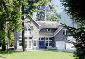 美式风格110平米别墅装修案例效果图