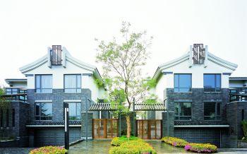 堤亚纳湾新中式别墅装修案例图