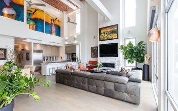 7万装修预算90平米两室一厅装潢效果图欣赏