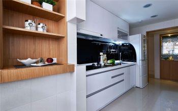 厨房白色现代简约风格装修设计图片
