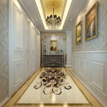 玄关米色走廊欧式风格装饰图片