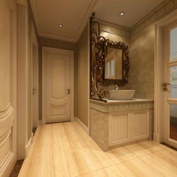 走廊简欧风格装饰效果图