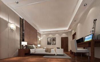 卧室现代中式风格装潢设计图片