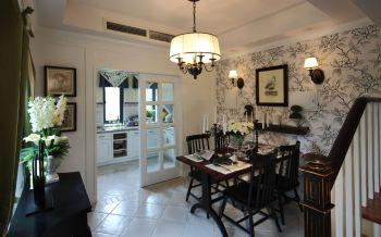 客厅推拉门古典风格装潢设计图片