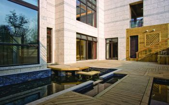 走廊现代中式风格装饰效果图