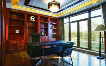 书房现代中式风格装饰设计图片