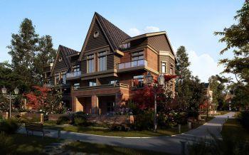 美式现代风格160平米舒适别墅装修效果图