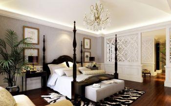 卧室隔断欧式风格装修设计图片