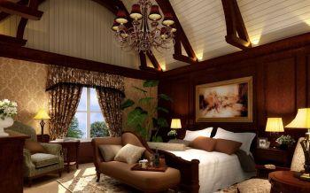 卧室窗帘欧式风格装饰设计图片