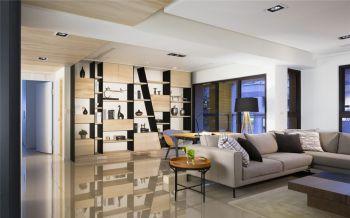 玄关博古架现代简约风格装饰效果图