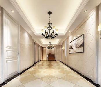 走廊简欧风格装修图片