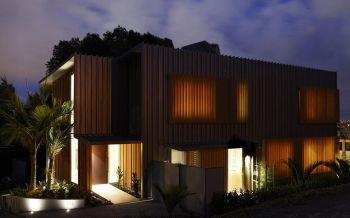后现代风格160平米别墅装修效果图
