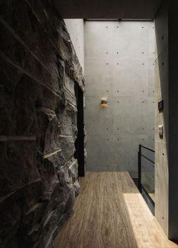 玄关背景墙后现代风格效果图