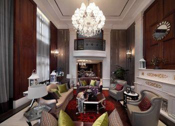 客厅吊顶现代欧式风格装饰设计图片