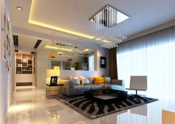 现代风格160平米四居室房子装修效果图