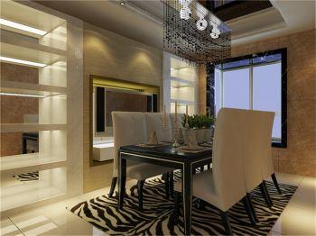 餐厅背景墙现代欧式风格装潢设计图片