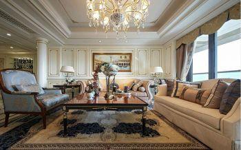 欧式风格160平米大户型新房装修效果图