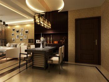 餐厅黄色吊顶现代简约风格装修效果图