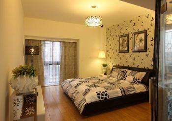 简约风格160平米三居室房子装修效果图