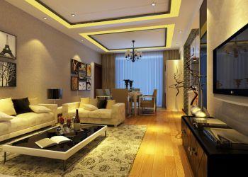 现代风格160平米三居室房子装修效果图