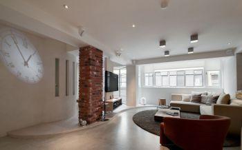 后现代风格70平米公寓装修效果图