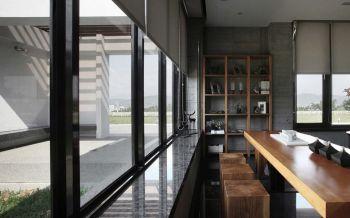 餐厅窗帘现代简约风格装饰图片