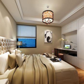 卧室背景墙韩式风格装饰效果图