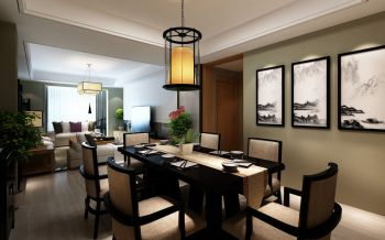 餐厅吊顶韩式风格装饰图片