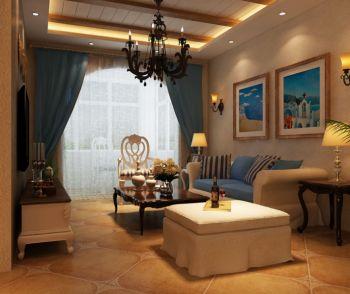 地中海风格70平米小户型房子装修效果图