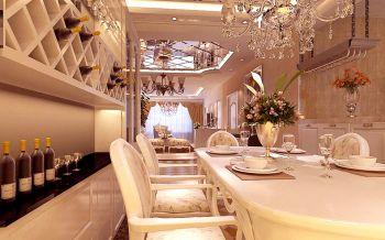 餐厅细节欧式风格装饰设计图片