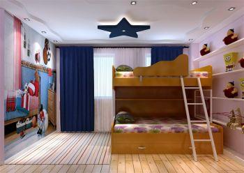 儿童房吊顶中式风格装修图片