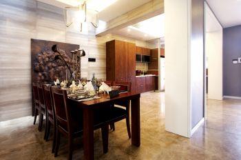 餐厅白色走廊现代风格装饰图片