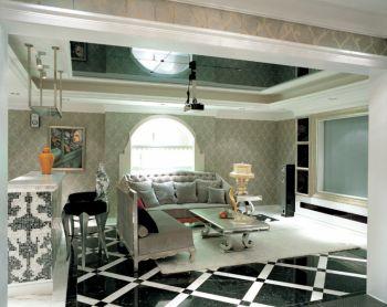 客厅吧台新古典风格装饰图片