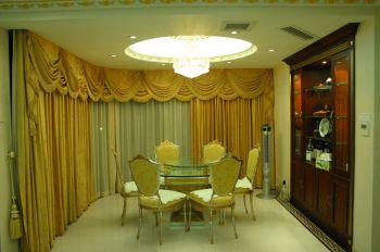 新古典风格160平米三居室房子装修效果图
