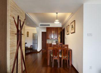 现代简约风格110平米三居室房子装修效果图