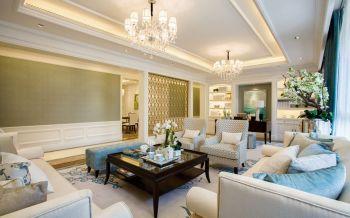 现代欧式风格160平米跃层房子装修效果图