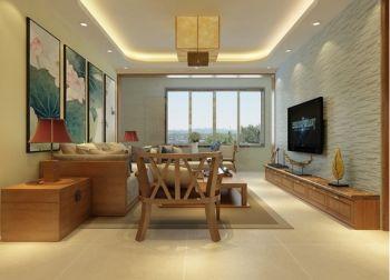 8万装修预算110平米三室两厅装修设计图