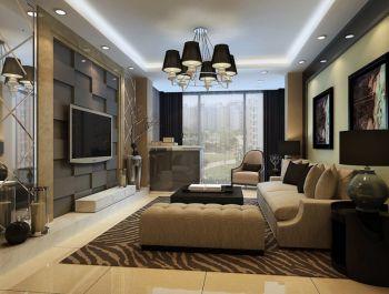 现代风格90平米小面积房子装修效果图