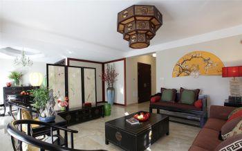客厅背景墙中式风格装修效果图