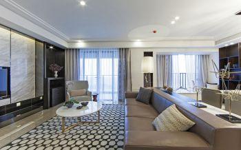 现代简约风格160平米套房装修效果图