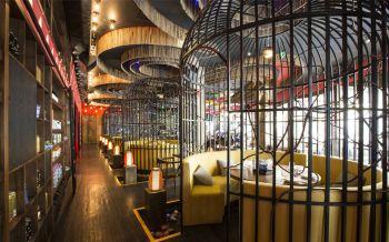 泰信宫餐厅韵味圆座装潢设计图片