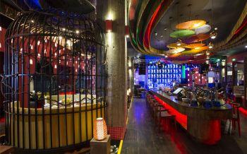 泰信宫餐厅走廊装修效果图