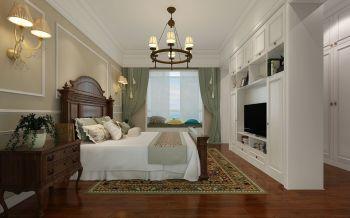 卧室飘窗现代简约风格效果图