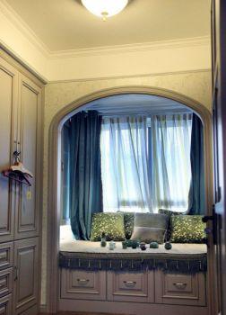 客厅白色榻榻米欧式风格效果图