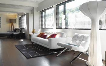 现代简约风格70平米公寓装修效果图