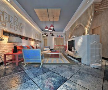 韩式风格110平米三居室房子装修效果图