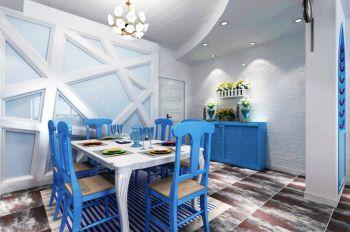 餐厅地中海风格装修图片