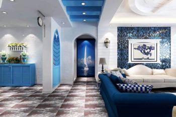 走廊地中海风格装潢设计图片